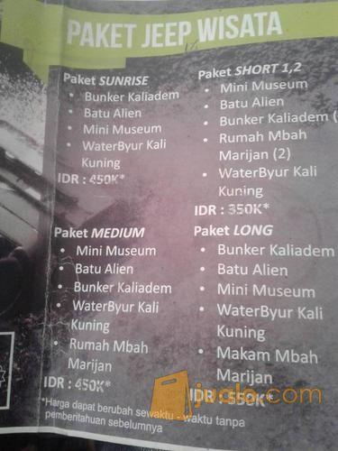 Lava Tour Merapi Kab Sleman Jualo Lain 12182849 Bunker Kaliadem