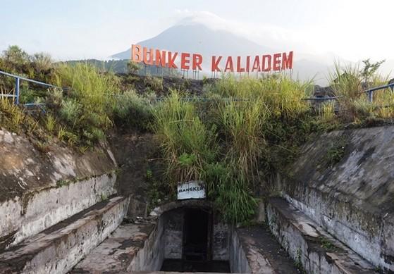 Objek Wisata Bunker Kaliadem Merapi Pakem Sleman Yogyakarta Kab