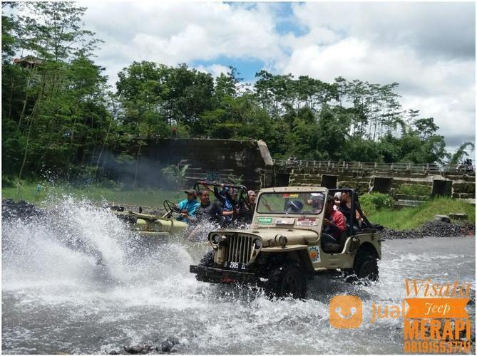 Paket Lava Tour Jeep Merapi Yogyakarta Kab Sleman Jualo Image
