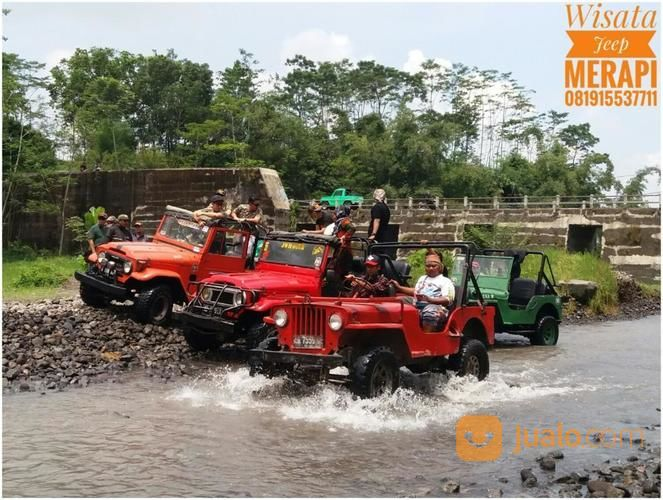 Wisata Kaliadem Jeep Merapi Adventure Jogja Kab Sleman Jualo Bunker