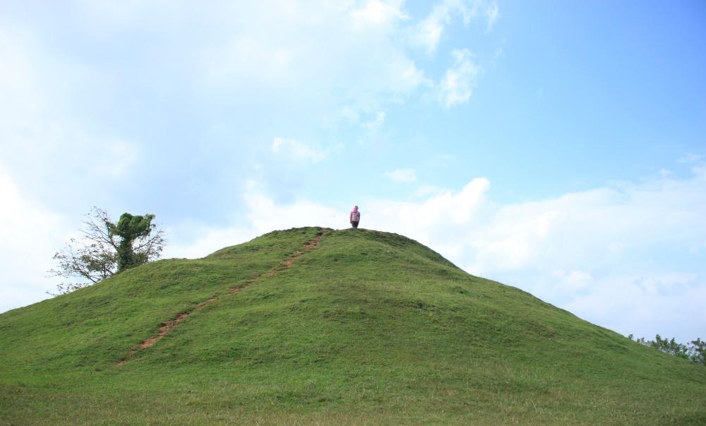 Candi Abang Keindahan Jogja Atas Bukit Indonesahh Dibangun Abad 10