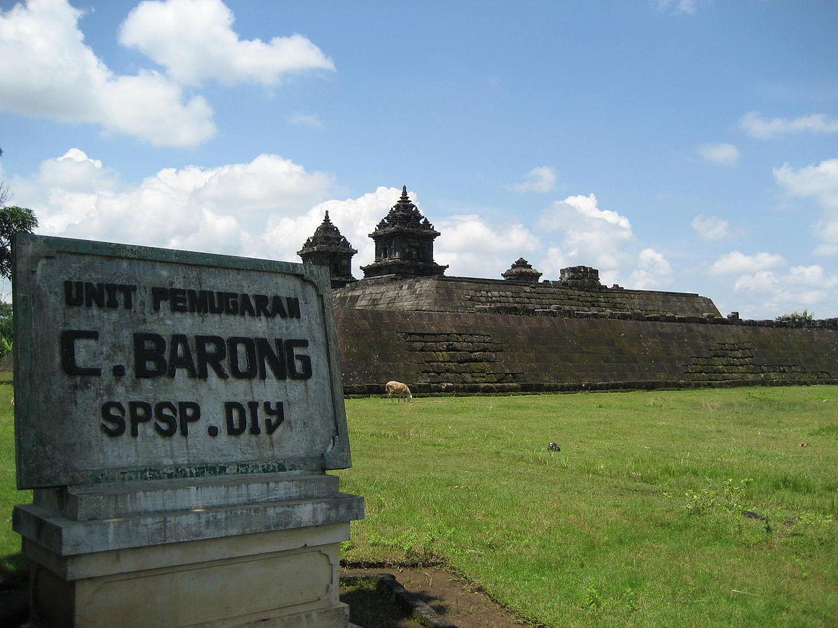 Candi Barong Wikipedia Bahasa Indonesia Ensiklopedia Bebas Kab Sleman
