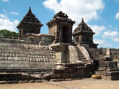 Candi Barong Wisata Yogyakarta Uniknya Fungsi Bangunan Berbeda Kab Sleman