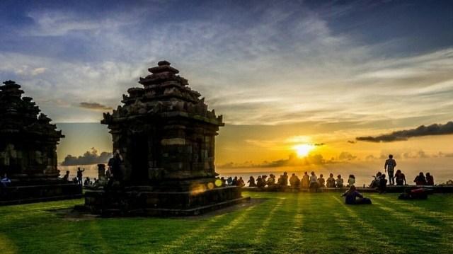 Pesona Candi Ijo Kalasan Yogyakarta Njogja Id Barong Kab Sleman