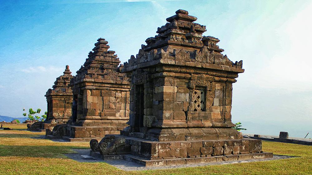 Candi Ijo Letaknya Tertinggi Yogyakarta Spade Picnic Gambar Kab Sleman