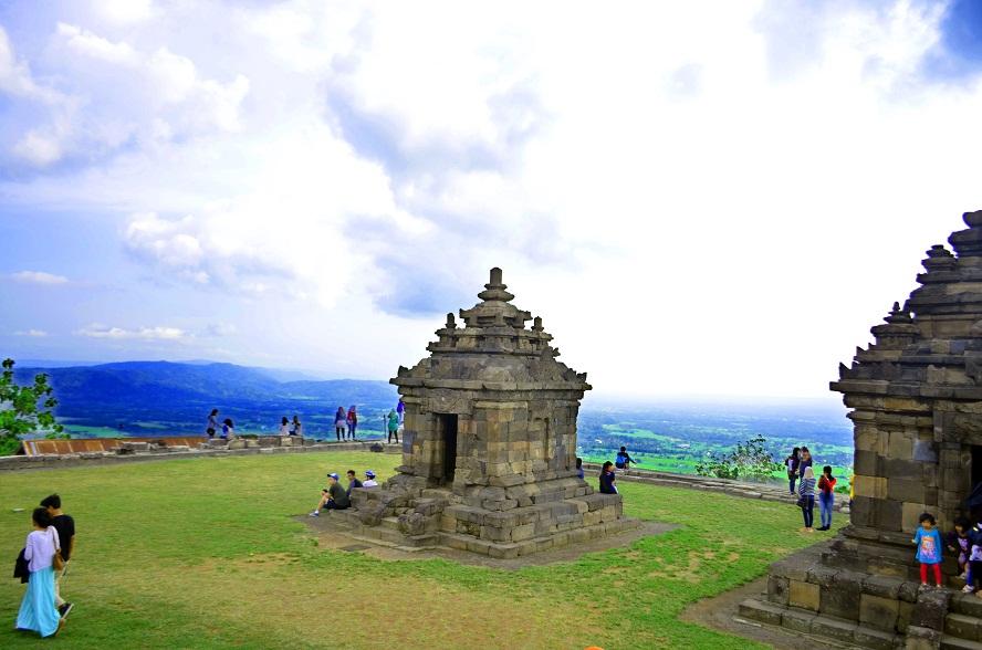 Candi Ijo Sleman Wisata Sejarah Terbaik 2017 Yogyakarta Kab