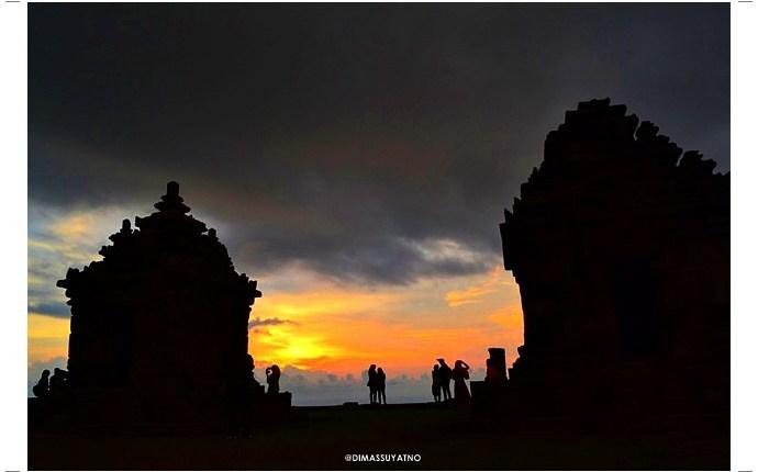 Candi Ijo Spot Sunset Terindah Jogja Dimas Suyatno Kab Sleman