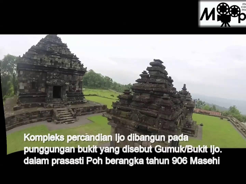 Yogyakarta Candi Ijo Terletak Dukuh Groyokan Kecamatan Prambanan Kabupaten Sleman
