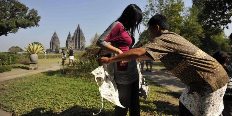 17 000 Wisatawan Kunjungi Prambanan Kompas Candi Kab Sleman