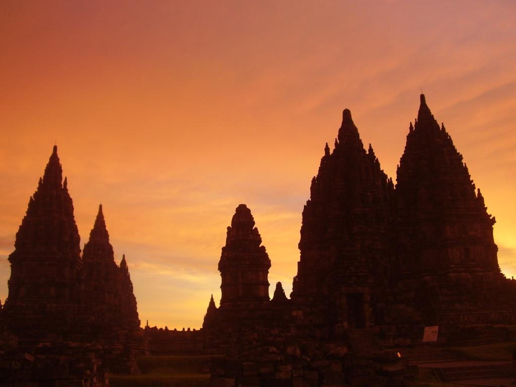 Candi Prambanan Borneoscape Kompleks Hindu Terbesar Indonesia Terletak Kabupaten Sleman