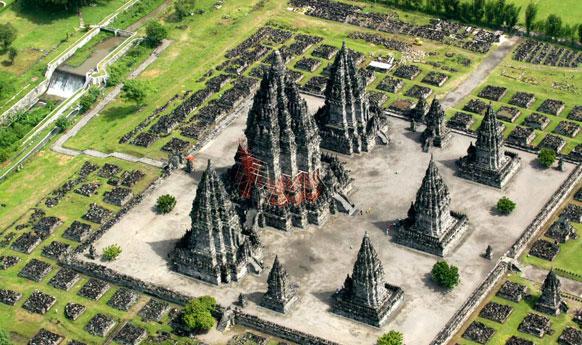 Candi Prambanan Legenda Rara Jonggrang Klinong Terletak Desa Kabupaten Sleman