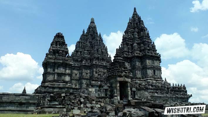 Candi Prambanan Wisnutri Jogjakarta Kab Sleman