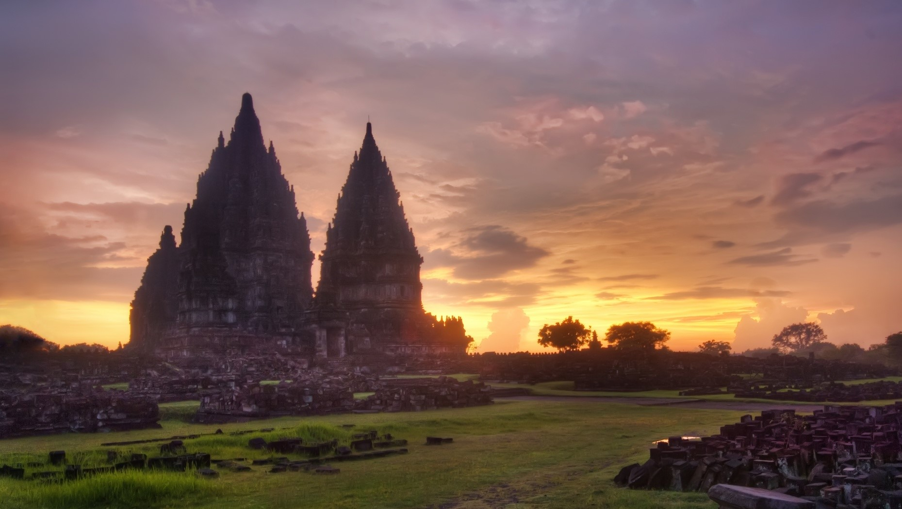 Prambanan Candi Hindu Wisata Yogyakarta Pesona Objek Perbatasan Jogja Klaten