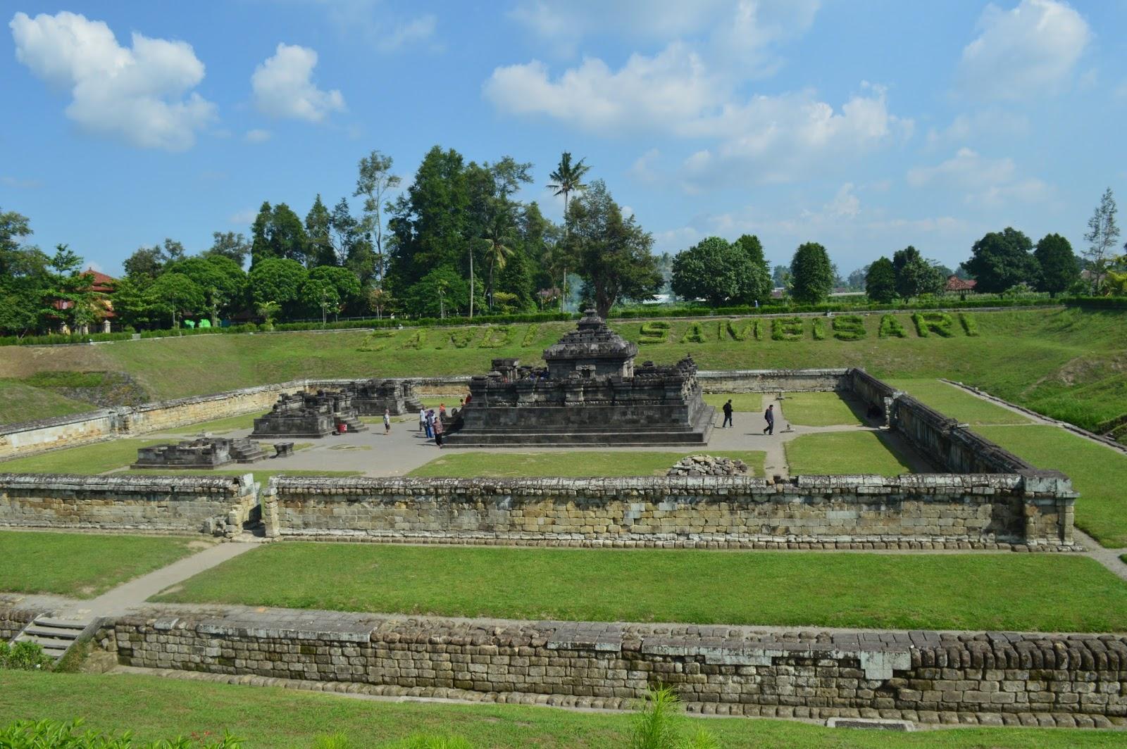 Candi Sambisari Bangunan Bawah Permukaan Tanah Idsejarah Net Satu Jogja