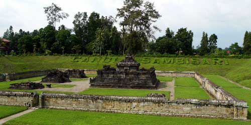 Candi Sambisari Sleman Indah Sejarah Menakjubkan Kab