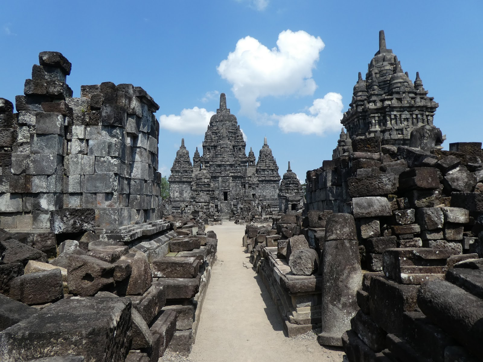 Webs Significance Prambanan Apparently Overlooked Candi Sewu Easily Imagine Central