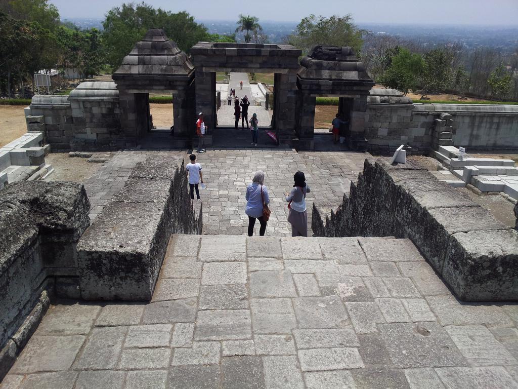 Akhir Pekan Ratu Boko Ramarachmanpratama Kompleks Istana Megah Dibangun Abad