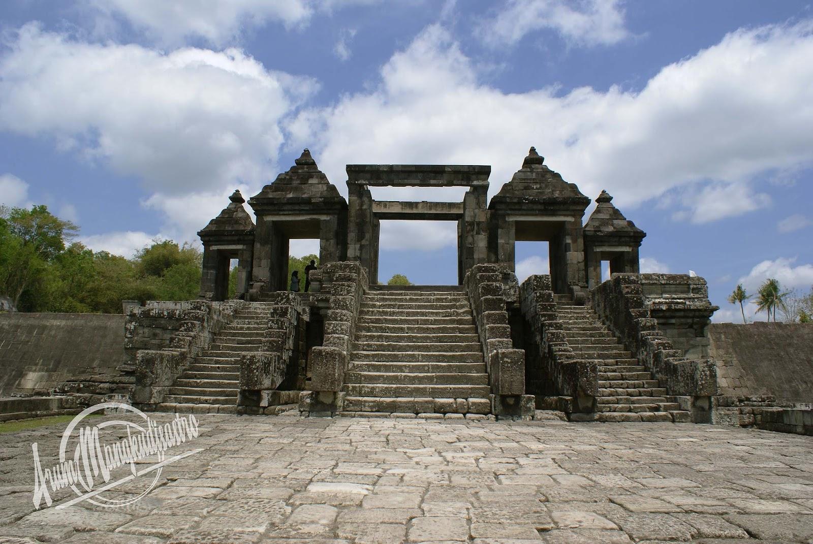 Indonesia Sungguh Indah Keraton Ratu Boko Istana Kedamaian Candi Kab