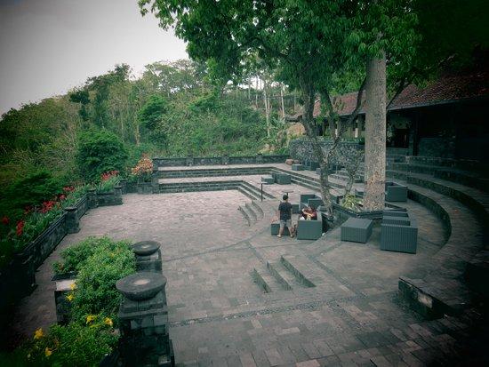 Istana Boko Resto Pemandangan Prambanan Kota Ratu Temple Yogyakarta Kab