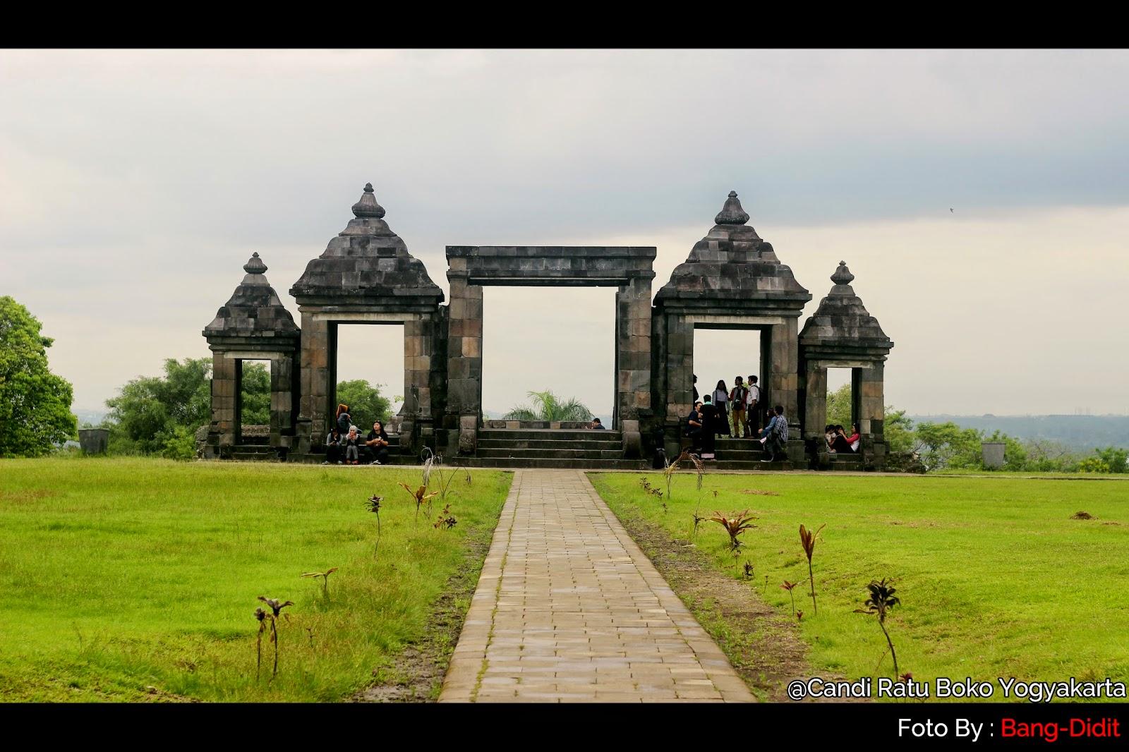 Istana Ratu Boko Bangunan Apik Peniggalan Sejarah Travelling Kab Sleman