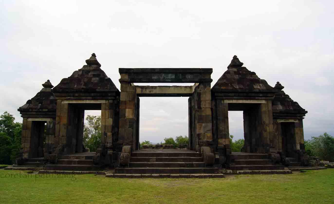 Istana Ratu Boko Peta Wisata Coretanpetualang Blog Gapura Candi Kab