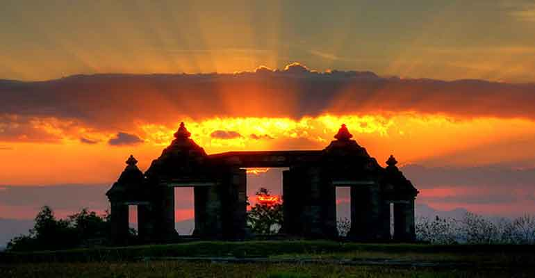 Istana Ratu Boko Yogyakarta Kab Sleman