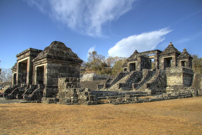 Menanti Bentuk Asli Keraton Ratu Boko Republika Online Kompleks Kraton