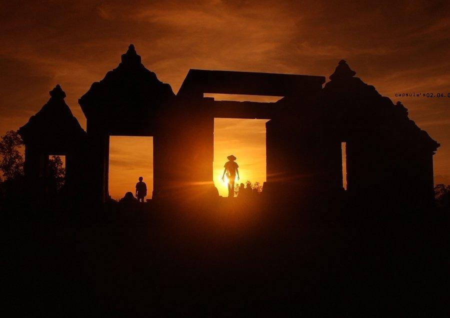 Pemerintah Kabupaten Sleman Blog Archive Pesona Sunset Candi Menarik Dinikmati