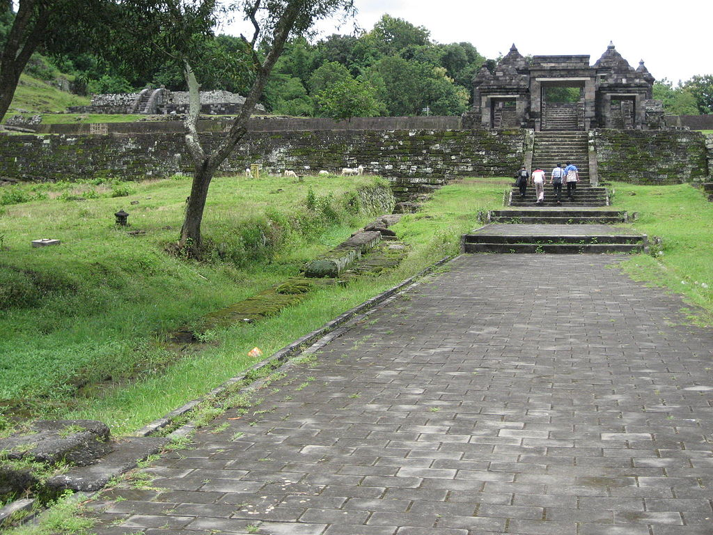 Ratu Boko Temple Yogyakarta Attraction Indonesia Copy Masgatotkaca Istana Kab