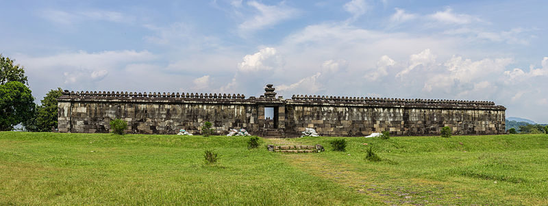 Ratu Boko Temple Yogyakarta Attraction Indonesia Crisco 1492 Istana Kab