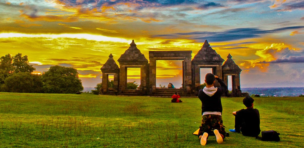 Situs Ratu Boko Istana Tersembunyi Jogja Pusat Informasi Kab Sleman