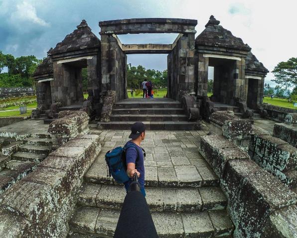 Sunset Harga Tiket Candi Ratu Boko Jogja Temple Istana Kab