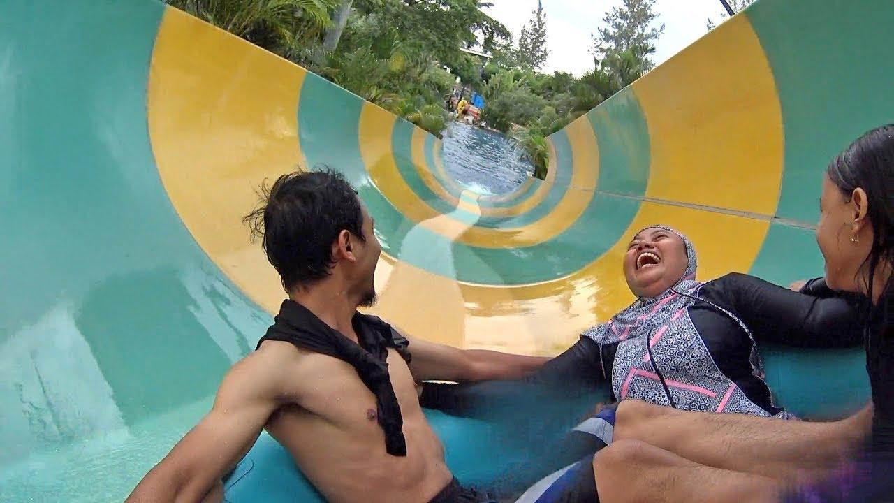 Adventure Water Slide Jogja Bay Waterpark Youtube Pirates Kab Sleman