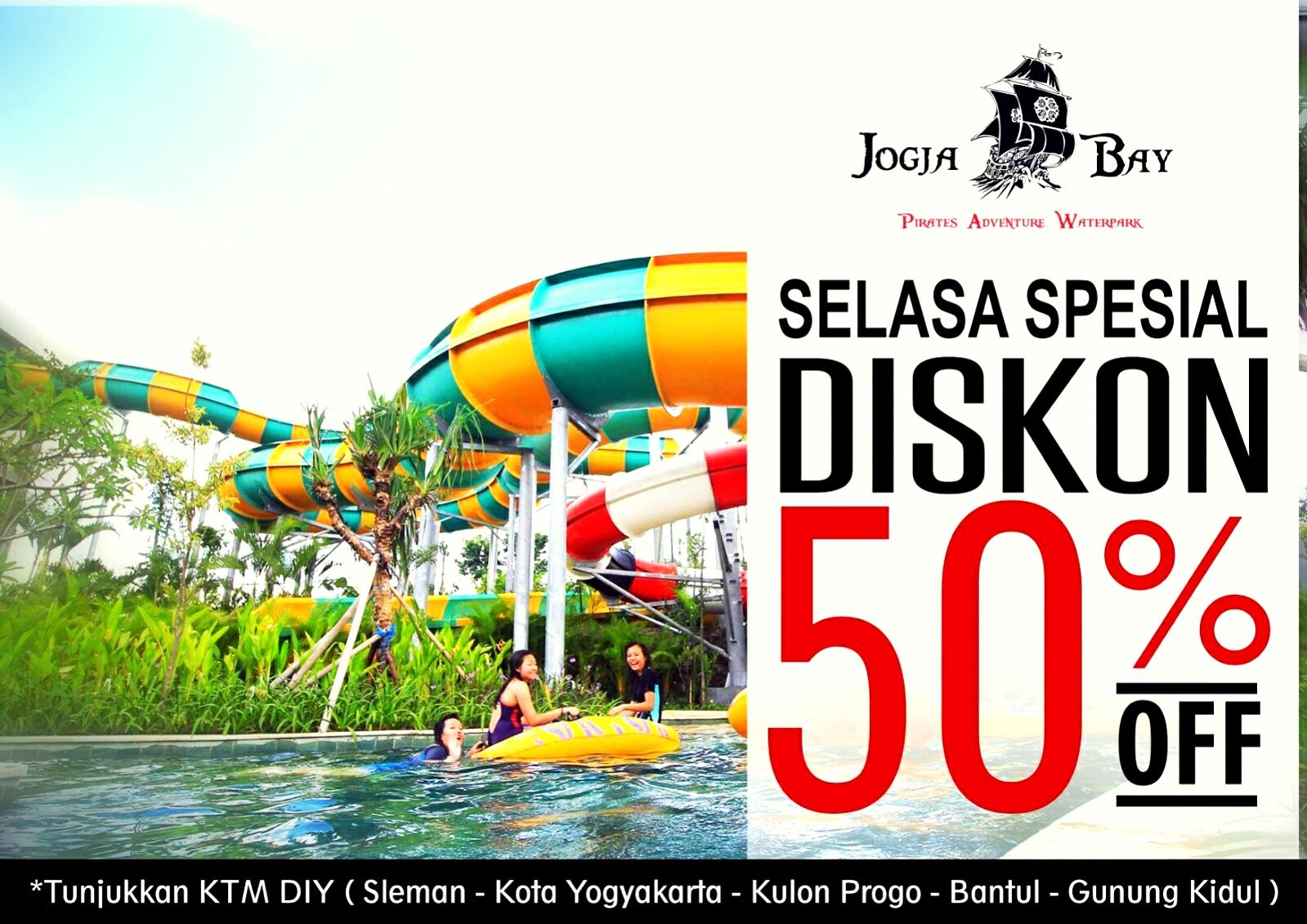 Diskon 50 Warga Yogyakarta Jogja Bay Waterpark Pirates Adventure Kab