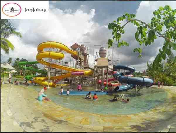 Harga Tiket Fasilitas Wahana Jogja Bay Pirates Adventure Area Parkir
