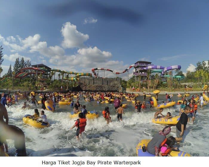 Harga Tiket Jogja Bay Pirate Warterpark Berbagai Wahana Pembangunan Pirates