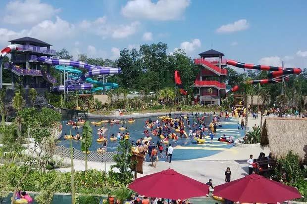 Jajal Sensasi Wahana Air Jogja Bay Pirates Adventure Waterpark Kab