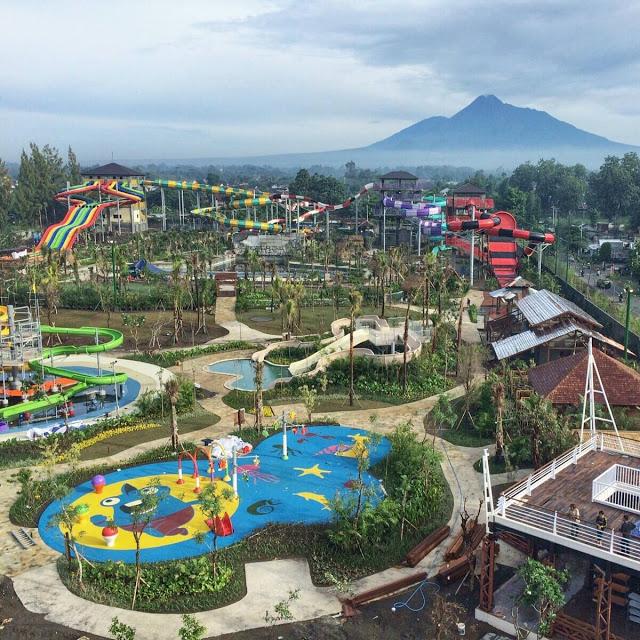 Jogja Bay Adventure Pirates Waterpark Terbesar Indonesia Putra Kab Sleman