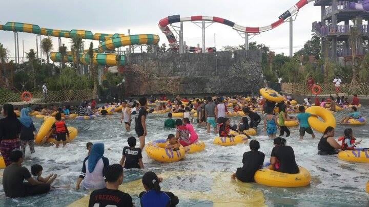 Jogja Bay Adventure Pirates Waterpark Wahana Air Termegah 2bombak 2bjogja