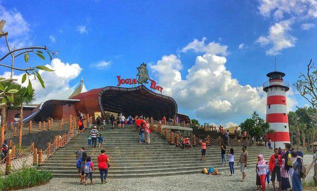 Jogja Bay Pirates Adventure Waterpark Taman Air Bermain Cocok Liburan