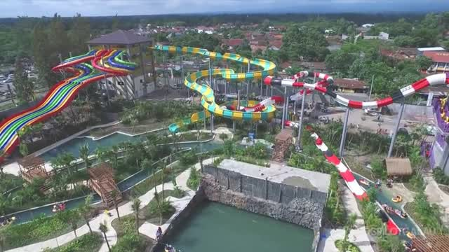 Jogja Bay Pirates Adventure Waterpark Yogyakarta Vidio Kab Sleman