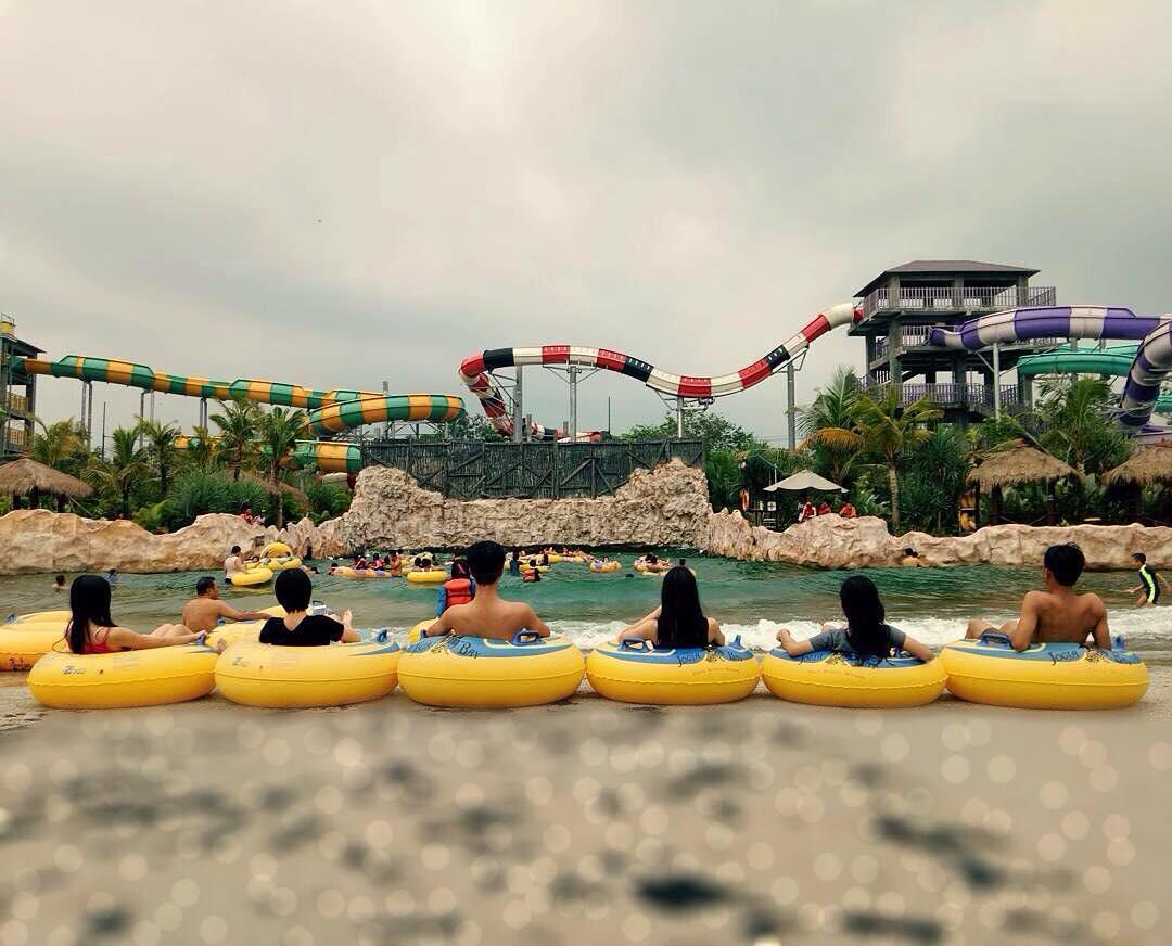 Jogja Bay Waterpark Terbesar Indonesia Review Video Serunya Liburan Pirates