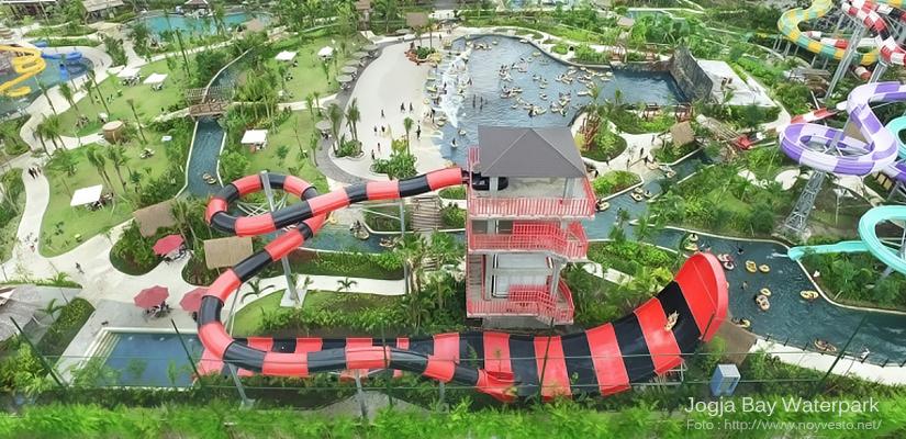 Jogja Bay Waterpark Yogyakarta Utiket Pirates Adventure Kab Sleman