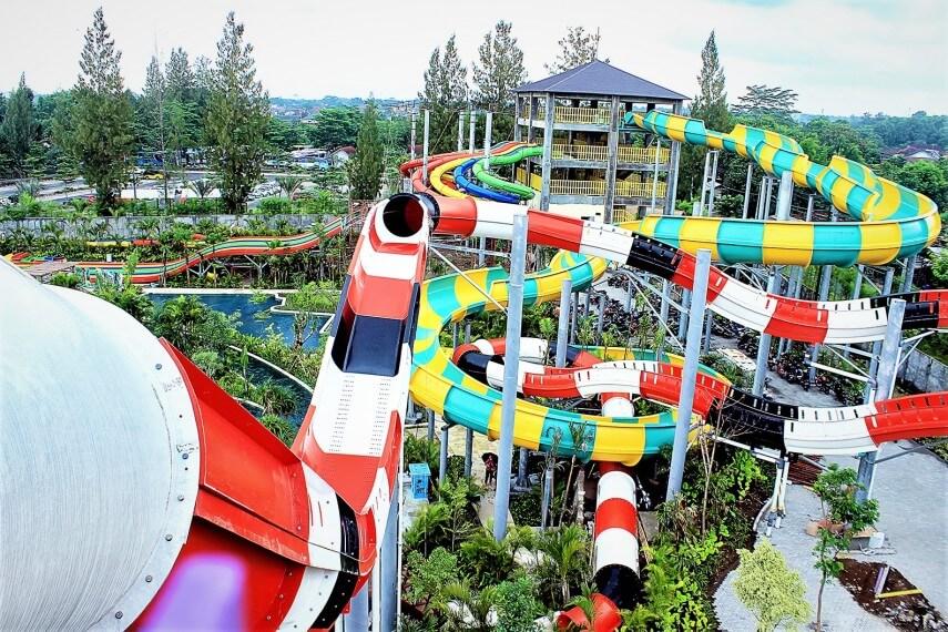 Jogjabay Pirates Adventure Waterpark Volcano Coaster Jogja Bay Kab Sleman