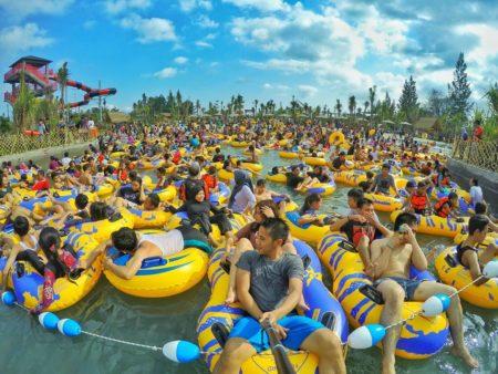 Keseruan Bermain Air Jogja Bay Waterpark Wisata Tour Liburan Mengajak
