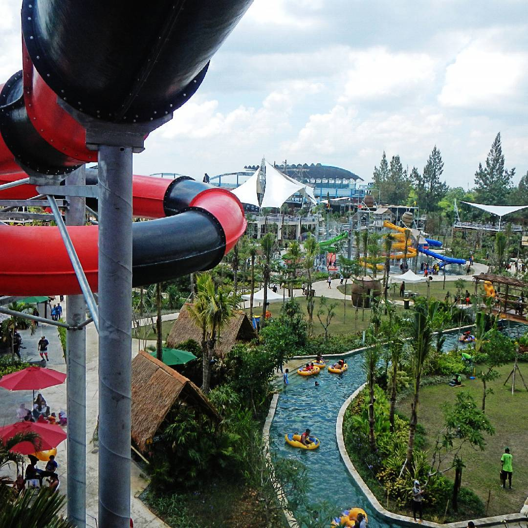 Liburan Jogja Cobalah Bay Pirates Adventure Waterpark Jogjabay7 Kab Sleman