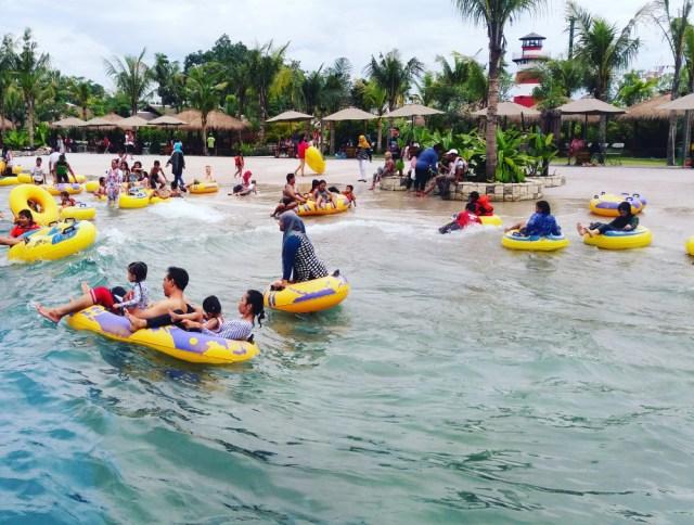 Mengunjungi Jogja Bay Pirates Adventure Waterpark Jamelatour Memiliki Wahana Populer