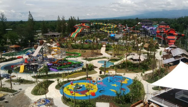 Padusan Jogja Bay Pelancong Diskon Menarik Tarif Masuk Waterpark Utara