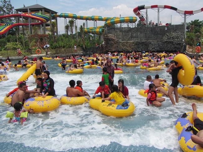 Sensasi Tsunami Jogja Bay Lukman Blog Rute Menuju Waterpark Southbeach