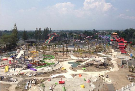 Siap Launching 20 Desember 2015 Taman Wisata Air Jogja Bay